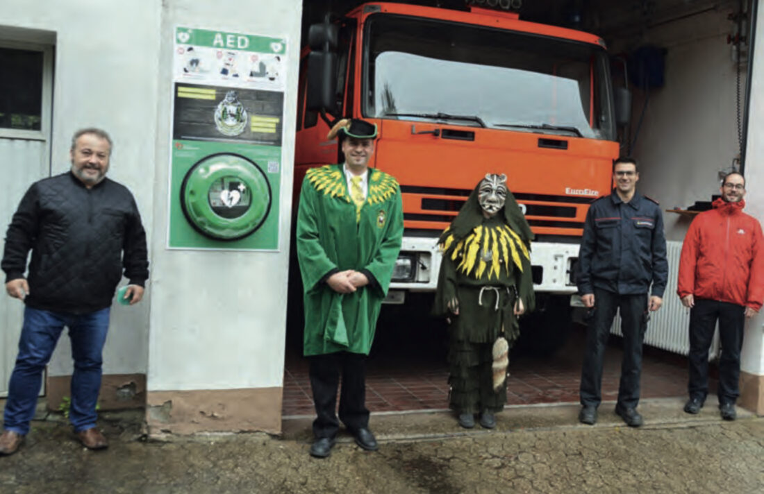 24/7-AED am FW-Gerätehaus FR-Kappel